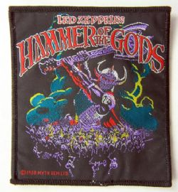 Led Zeppelin - 'Hammer of the Gods' Woven Patch